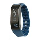 "Фитнес браслет SMA Coach, 0.88"", IP65, пульсометр, оповещения, будильник, шагомер, синий"