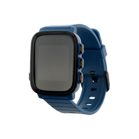 """Смарт-часы SMA Q2 Lite, 1.28"""", IP67 с пульсометром, синие"""