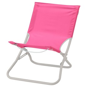 Пляжный стул ХОМЭ, макс нагрузка до 100 кг, розовый
