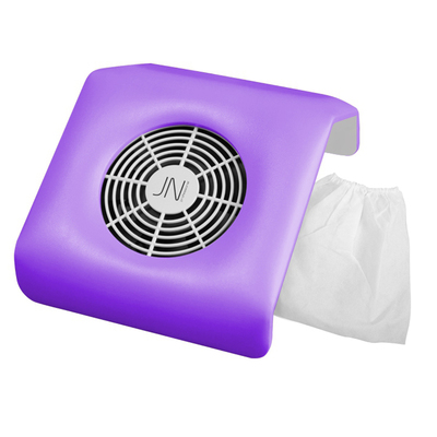 Пылесос JessNail SD-39М на маникюрный стол, 23 Вт, 2 мешочка (фильтра), фиолетовый