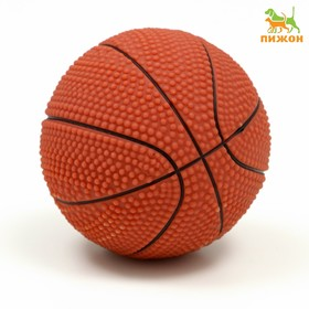 """Toy squeaking a small """"basketball Ball"""", MIX COLORS 5.5 cm"""