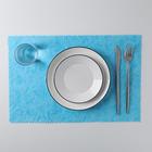 """Napkin kitchen 42х28 cm """"Vortex"""", color blue"""
