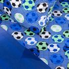 Постельное бельё 1,5сп «Футбольный фанат», 215х145 см, 220х150 см, 70х70 см, поплин - фото 105558893