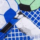 Постельное бельё 1,5сп «Футбольный фанат», 215х145 см, 220х150 см, 70х70 см, поплин - фото 105558895