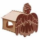 """Скворечник кормушка для птиц """"Ангел"""""""