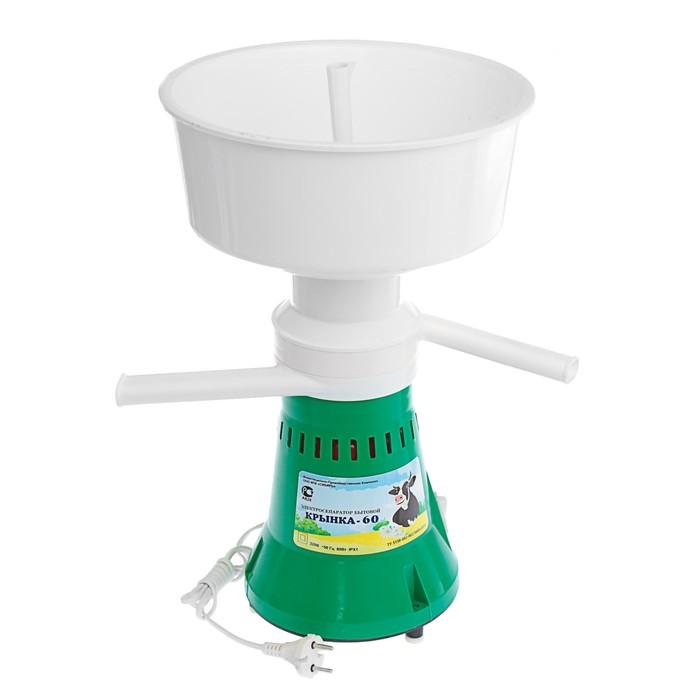 """Электросепаратор """"Крынка-60"""", 60 л/час, 12000 об/мин, емкость 5.5 л, зеленый"""