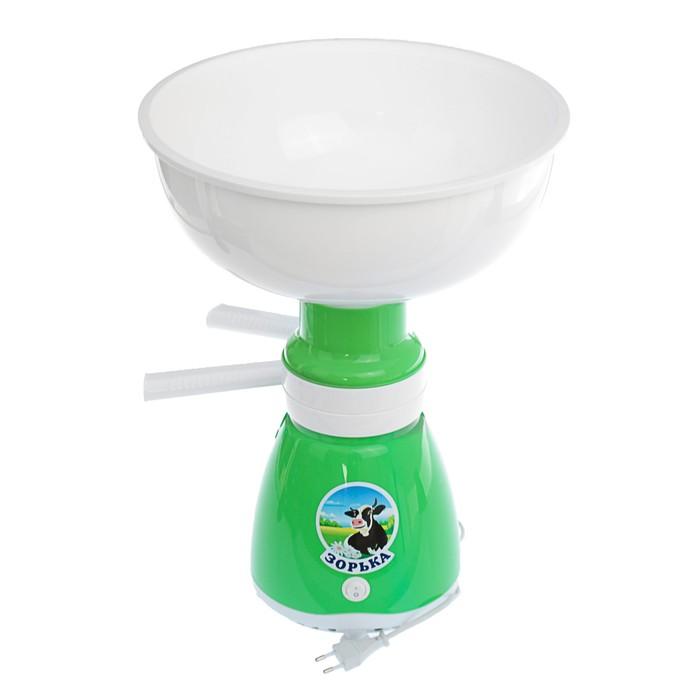 "Электросепаратор ""Зорька"", 60 л/час, 14000 об/мин, чаша 5.5 л, зелёный"