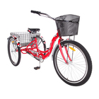 "Велосипед 26"" Stels Energy-III, V030, цвет красный/белый, размер 16"""