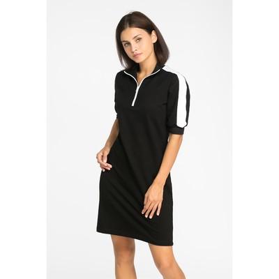 Платье спортивное MINAKU, размер 48, цвет чёрный