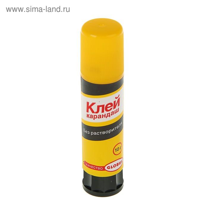 Клeй-карандаш PVA 10 г GLOBUS, без растворителя