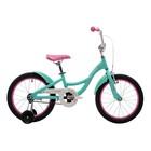"""Велосипед 18"""" Pride Amelia, 2018, цвет розовый/мятный"""