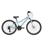 """Велосипед 24"""" Pride Lanny 21, 2018, цвет голубой/бирюзовый/малиновый"""