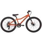 """Велосипед 24"""" Pride Pilot 7, 2018, цвет оранжевый"""