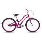"""Велосипед 24"""" Pride Sophie, 2018, цвет бордовый"""