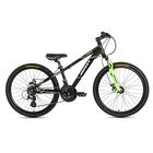 """Велосипед 24"""" ASPECT WINNER, 2018, цвет черно-зеленый"""