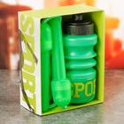 Набор «Спорт»: бутылка для воды 450 мл, скакалка 280 см