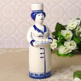 "Bottle ""Nurse"", 0.25 l, 20 cm, Gzhel"