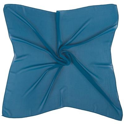 Платок текстильный 54S_B20 цвет синий, размер 72х72