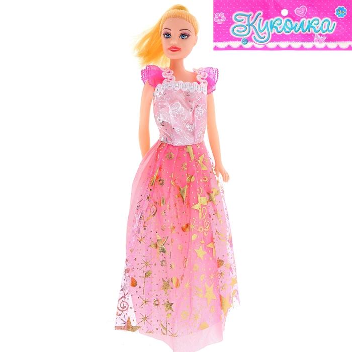 """Кукла модель """"Кейт"""" в вечернем платье, МИКС"""