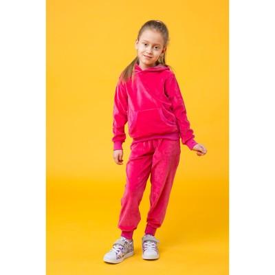 Костюм спортивный для девочки, рост 122 цвет розовый 250