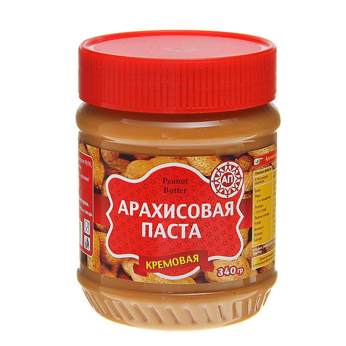 """Арахисовая паста """"Агент-продукт"""" кремовая, 340 г"""