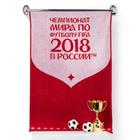 Полотенце махровое 50х90 см, цвет красный (400г/м2), 2018 FIFA World Cup Russia™