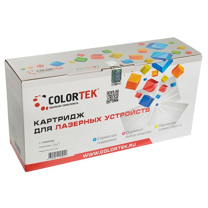 Картридж Colortek 108R00908 для Xerox Phaser 3140/3155/3160 (1500k), черный