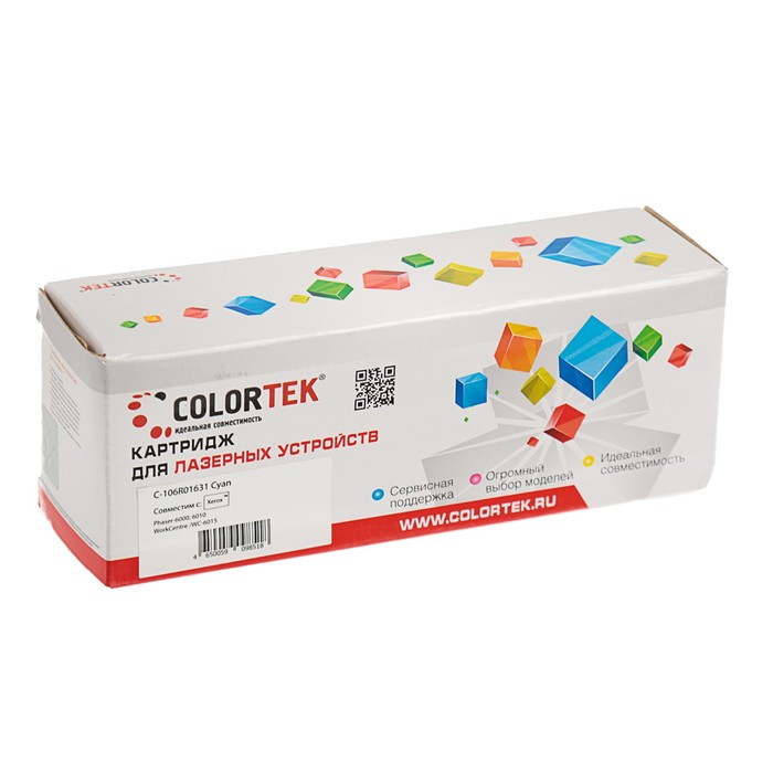 Картридж Colortek 106R01632 для Xerox Phaser 6000/6010/WorkCentre 6015 (1000k), пурпурный