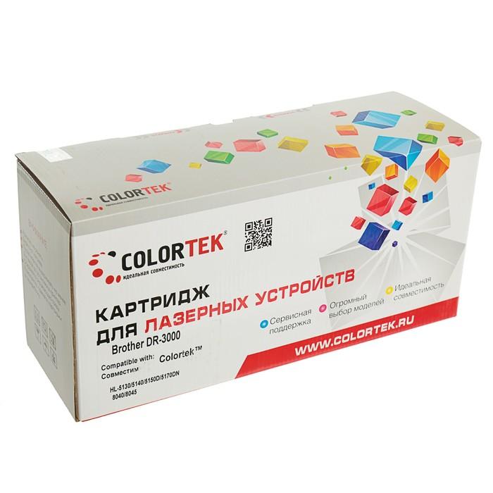 Фотобарабан Colortek DR-3000 для Brother HL-5130/5140/5150D/5170DN/8040/8045 (20000k),черный