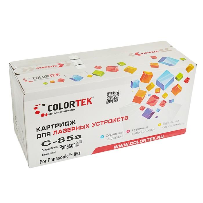 Картридж Colortek KX-FA85A для Panasonic KX-FLB813/KX-FLB853 (5000k), черный - фото 408710548