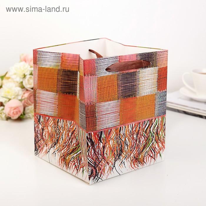 Пакет-сумка 19 х 19 х 22 см