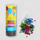 "Firecracker spring ""Cake"", 11 cm (confetti + streamer)"