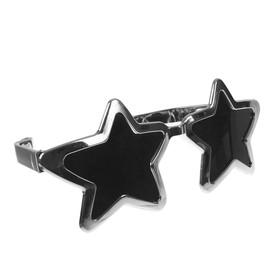 Очки-гигант «Звёзды», цвет серебро