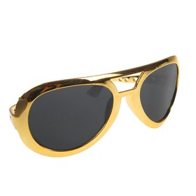 Очки-гигант «Красота», цвет золотой