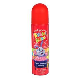 Пена для игры в ванне Funny Bunny розовая, 80 мл