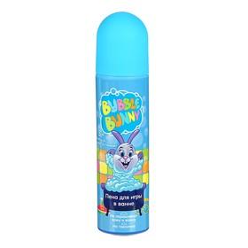 Пена для игры в ванне Funny Bunny голубая, 80 мл Ош