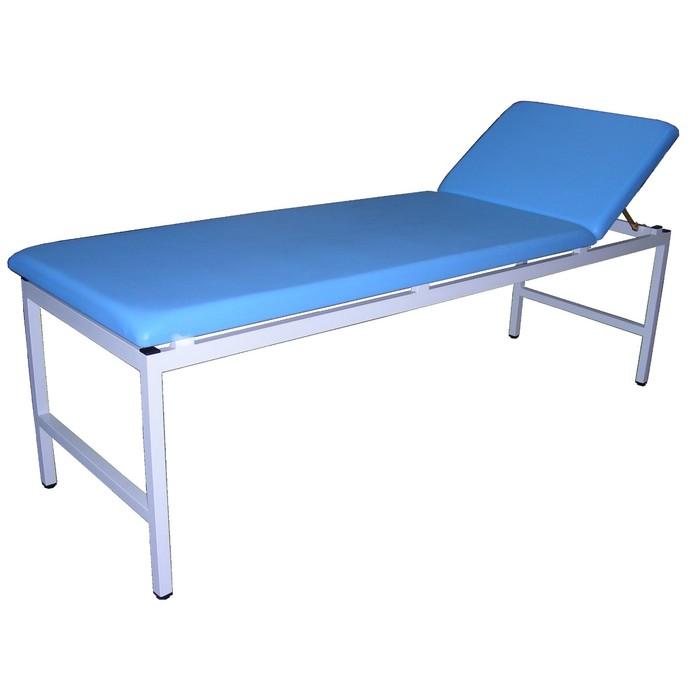 Кушетка медицинская смотровая, 2000х650х550 мм, синяя