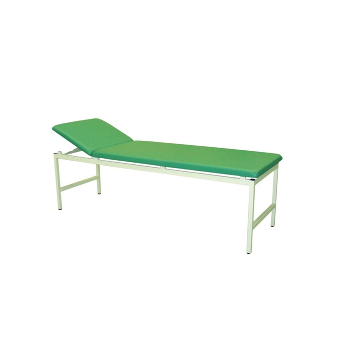 Кушетка медицинская смотровая, 2000х650х550 мм, зелёная
