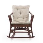 Кресло-качалка CANARY МИ без подушки, цвет коньяк