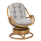 Кресло-качалка KARA МИ без подушки, цвет мёд