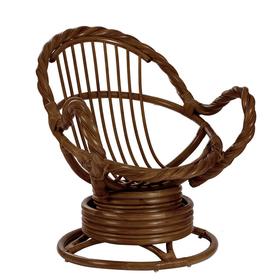 Кресло-качалка MORAVIA МИ без подушки, цвет орех