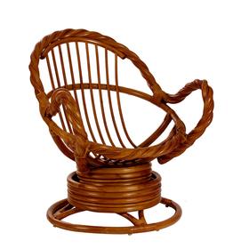 Кресло-качалка MORAVIA МИ без подушки, цвет коньяк