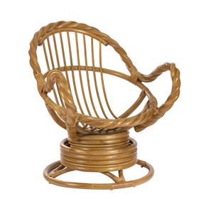 Кресло-качалка MORAVIA МИ без подушки, цвет мёд