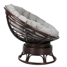 Кресло-качалка PAPASUN SWIVEL ROCKER МИ без подушки, цвет орех