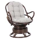 Кресло-качалка SWIVEL ROCKER МИ без подушки, цвет орех