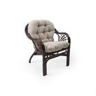 Кресло ROMA МИ с подушкой, цвет орех