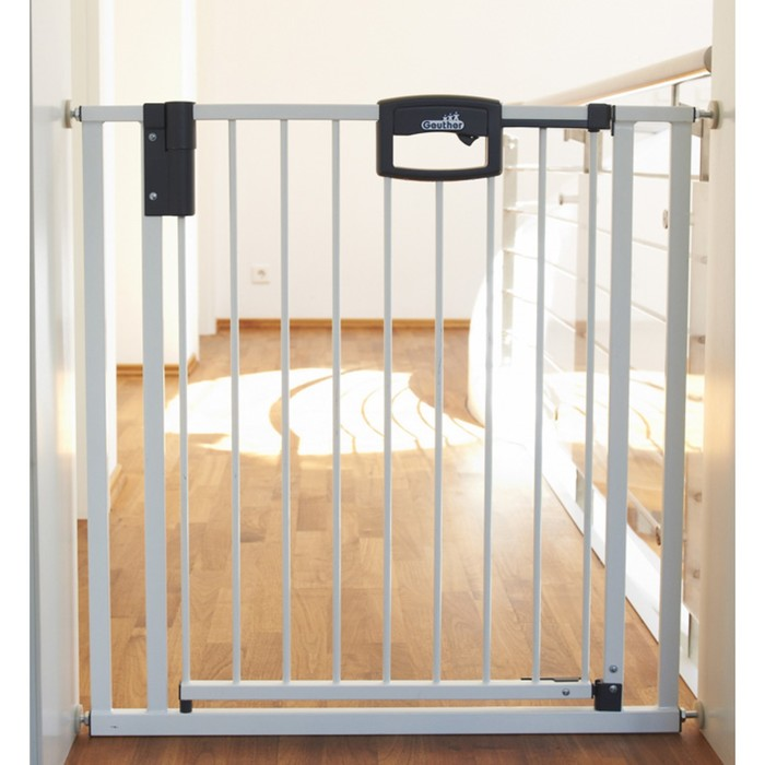 Ворота безопасности Geuther Easylock 80,5-88,5 х 81,5 см, белые