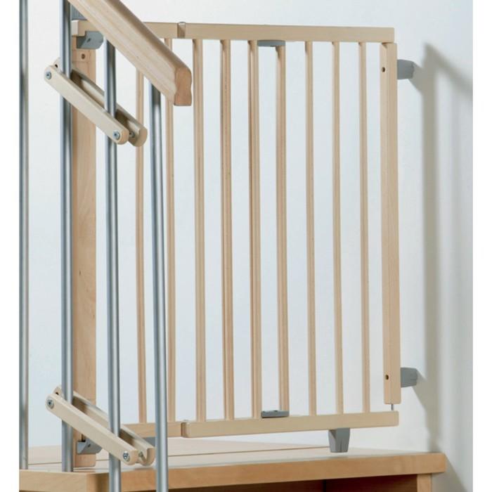 Ворота безопасности Geuther лестничные 95-135 см, натуральный