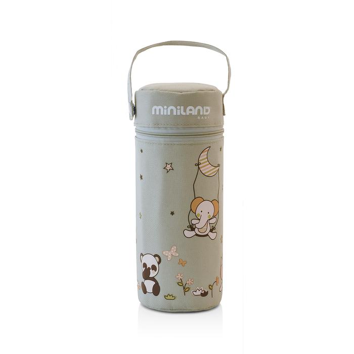 Термосумка для бутылочек Soft 330 мл, бежевая