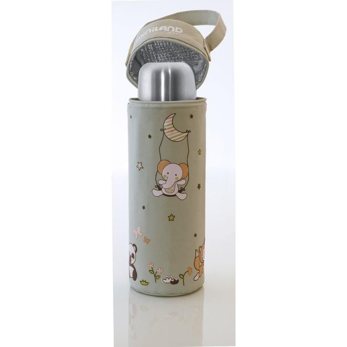 Термосумка для бутылочек Soft 500 мл, бежевая